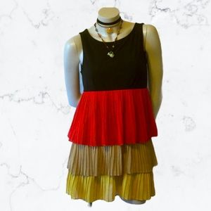 Forever 21 Tiered Ruffle Boho Dress S